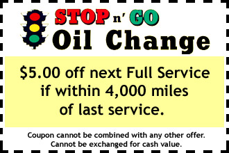 Lube N Go >> Stop-n-Go Oil Change - Air Conditioning Repair - Auto Repair - Mount Joy, PA